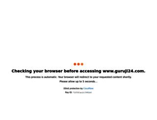 guruji24.com screenshot