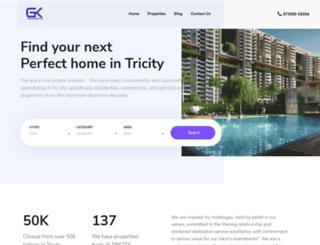 gurukirpaproperty.in screenshot