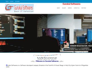 gurukulsoftwares.com screenshot