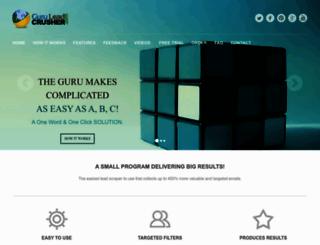 guruleadcrusher.com screenshot
