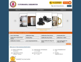 gurumaharajsublimation.com screenshot