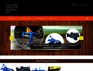 gurunanakagriculture.tradeindia.com screenshot