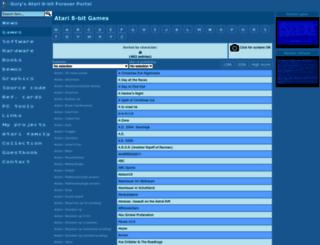 gury.atari8.info screenshot