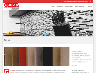 gurza.com.mx screenshot