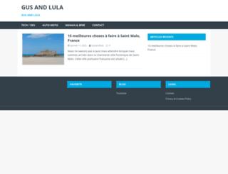 gusandlula.com screenshot