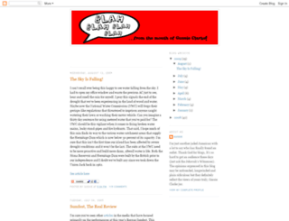 gussieclarke.blogspot.fr screenshot