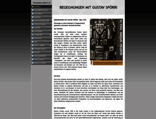 gustav-spoerri.ch screenshot
