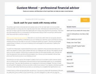 gustave-monod.org screenshot