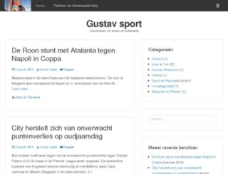 gustavsport.nl screenshot