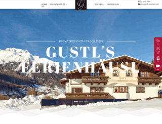 gustl-soelden.com screenshot