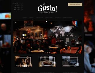 gustocoffeeshop.com screenshot