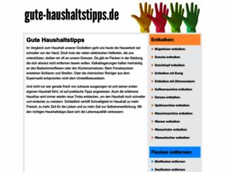 gute-haushaltstipps.de screenshot