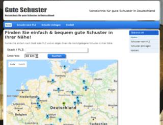 gute-schuster.de screenshot