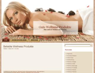 gute-wellness-produkte.de screenshot