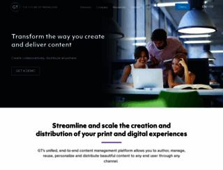gutenberg-technology.com screenshot