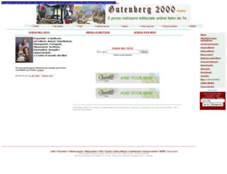 gutenberg2000.org screenshot