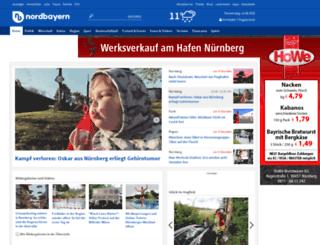 gutereise.nordbayern.de screenshot