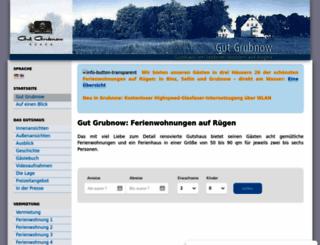 gutgrubnow.de screenshot