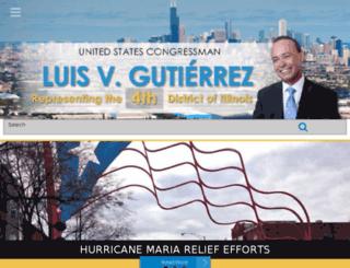 gutierrez.house.gov screenshot