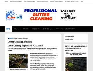 gutter-cleaningbrighton.co.uk screenshot