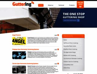 guttering.co.uk screenshot