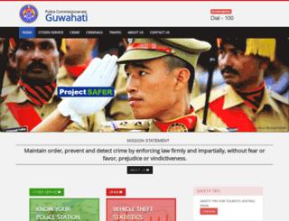 guwahaticitypolice.gov.in screenshot