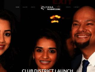 guyanalive.com screenshot