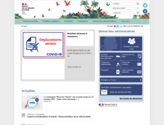 guyane.pref.gouv.fr screenshot
