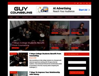 guycounseling.com screenshot