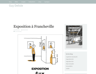 guydelisle.com screenshot