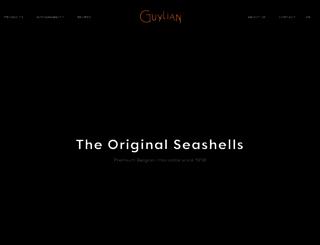 guylianbelgianchocolate.com screenshot