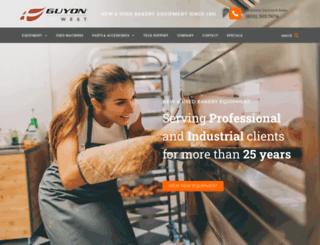 guyonwest.com screenshot