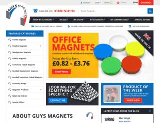 guysmagnets.com screenshot