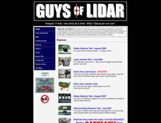 guysoflidar.com screenshot