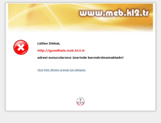 guzelkisla.meb.k12.tr screenshot