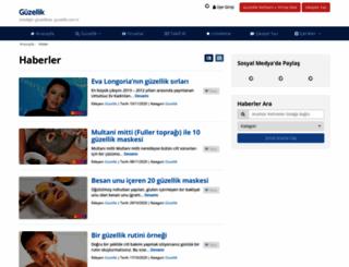 guzellikhaber.com screenshot
