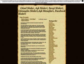 guzelsozlersevgiasksozleri.unblog.fr screenshot