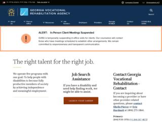 gvra.georgia.gov screenshot