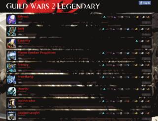 gw2legendary.com screenshot