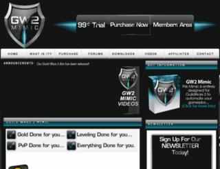 gw2mimic.com screenshot