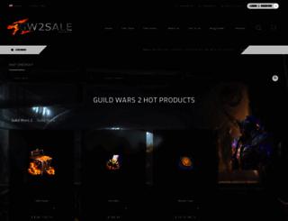 gw2sale.com screenshot