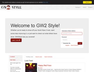 gw2style.com screenshot