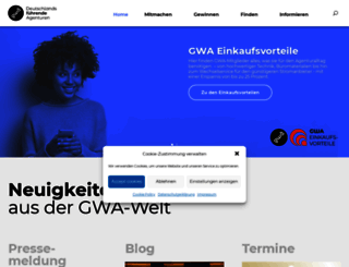 gwa.de screenshot