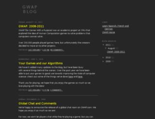 gwap.com screenshot