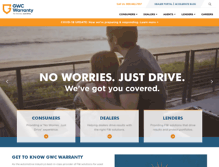gwcwarranty.com screenshot