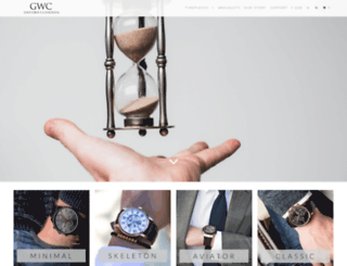 gwcwatches.com screenshot