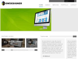 gwdesigners.com screenshot