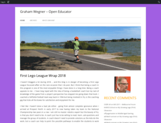 gwegner.edublogs.org screenshot
