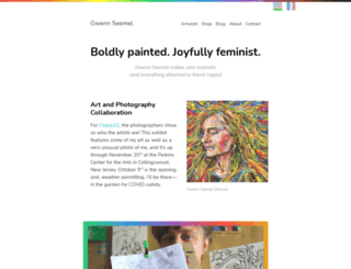 gwennseemel.com screenshot