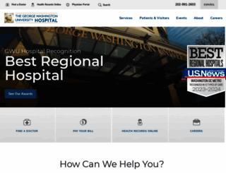 gwhospital.com screenshot